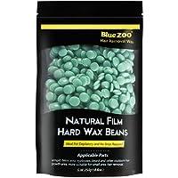 BlueZoo Depilatory Hard Wax Beans - 250 gms Bag - Green Tea