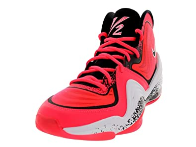 new concept b1c91 caff4 Nike Mens Air Penny V LIL Atoimic RedBlackWhite Basketball Shoe 9 Men