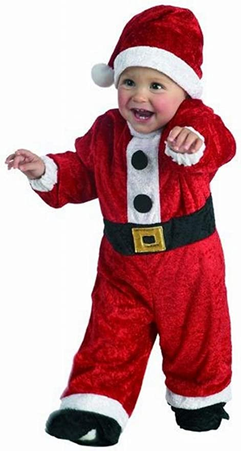 Disfraz Papá Noel bebé. Talla 2 años.: Amazon.es: Juguetes y juegos