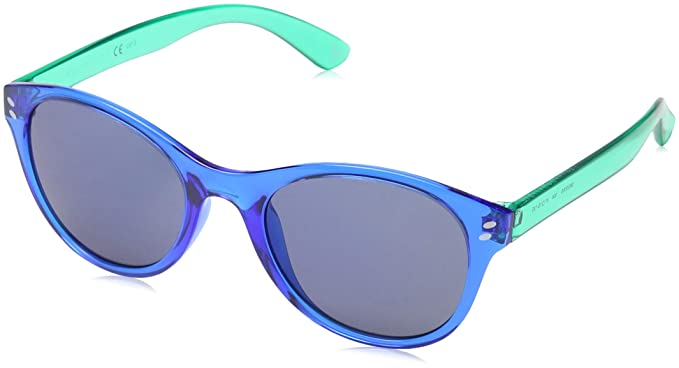 3af6cd1987f Image Unavailable. Image not available for. Color  Stella McCartney Kids 4  Light Blue 0006S Round Sunglasses ...