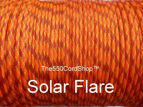 The550CordShop Type III 100-Feet Commercial Paracord, Solar ()
