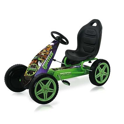Amazon.com: Hauck T90540 Ninja Go-Kart, TMNT, verde: Toys ...
