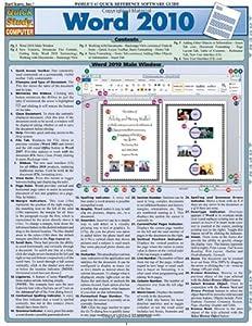 Word 2010 (Quickstudy: Computer)