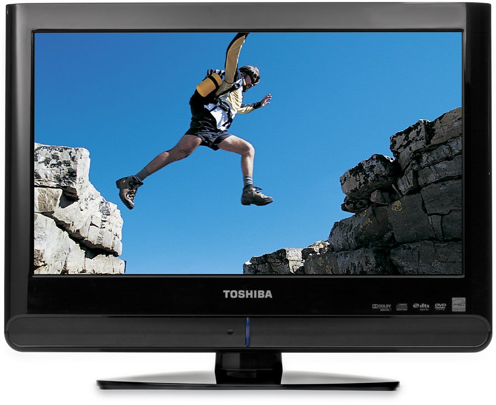 Amazon.com: Toshiba 15LV505 15.6-Inch Widescreen LCD TV with Built ...