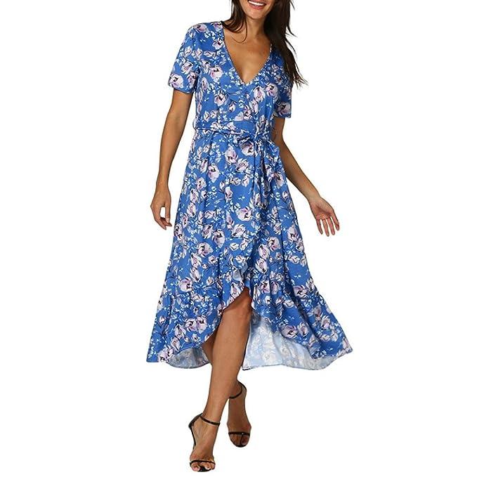 WINWINTOM 2018 Fiesta Elegantes Encantador Vestir, Verano Mujer Linda Vestidos, Mujer Verano V-