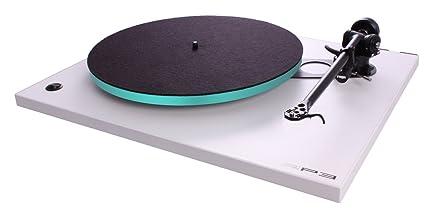 Amazon.com: Tocadiscos rega Rp3 con rb303 tonearm (Blanco ...