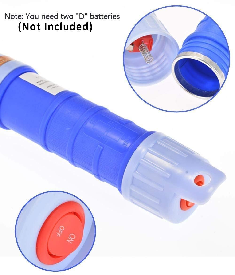 Blue 3V 1A Short Electric Pump 12000//Min Idling HERCHR Portable Power Water//Fuel//Oil Transfer Battery Pump