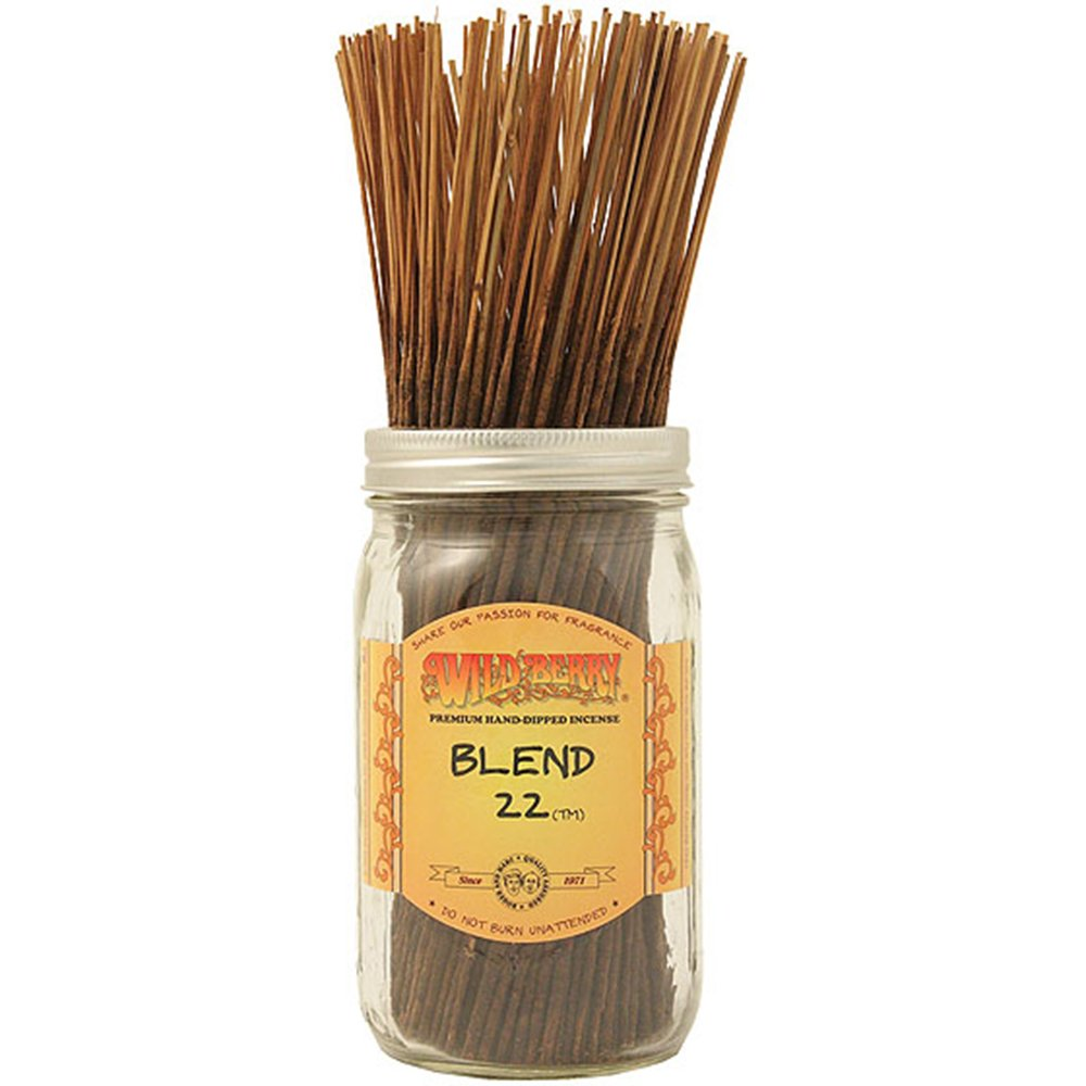 Wildberry Special Blend 22 Stick Incense 100 Count