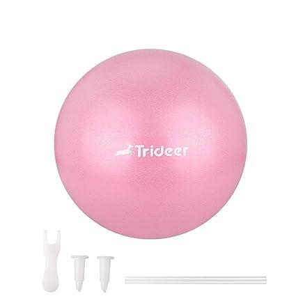 Pelota de pilates Trideer, bola de barrera, mini pelota de ...
