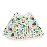 "Aden by Aden + Anais Burpy Bib, 100% Cotton Muslin, Soft Absorbent 4 Layers, Multi-Use Burp Cloth and Bib, 22.5"" X 11"", Single, Going Bananas"