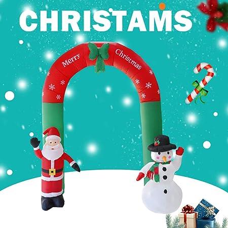 Decorative Inflatable Christmas Decoration garden figures Santa Chimney Snowman