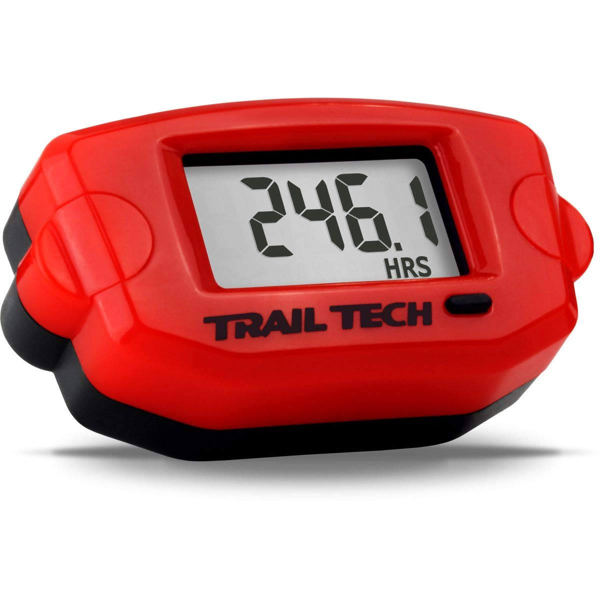 Trail Tech TTO Tach/Hour Meter - Surface Mount (RED)