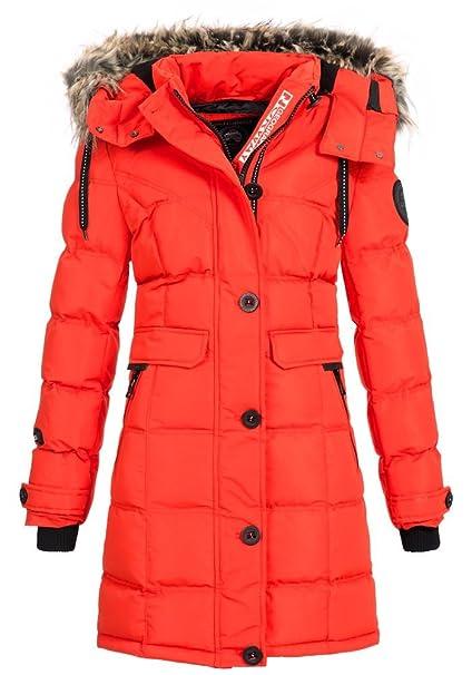 Geographical Norway - Abrigo - para Mujer Rojo M