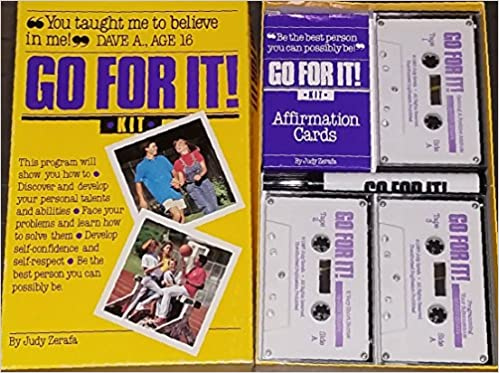 Go for It Kit (Book, Cards, 3 Cassettes, and Marking Pen): Judy Zerafa: 9780944815007: Amazon.com: Books