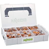 **Official & Genuine** WAGO 887-957 L-BOXX® Mini - 4mm² & 6mm² 221 Series Connectors in Sortimo Carry Case (75) 221-412…