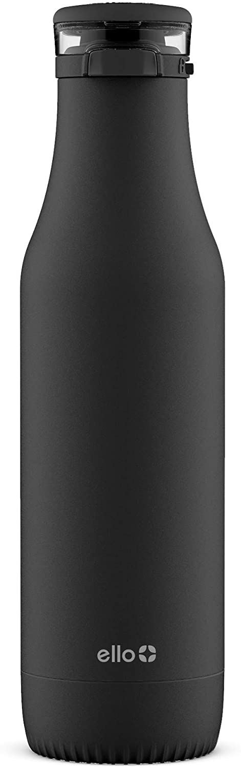 Ello Riley 18oz Vacuum Insulated Stainless Steel Water Bottle with Flip Lid