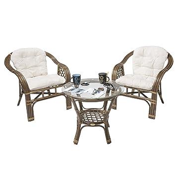Rotin Design Rebajas : -46% Conjunto terraza de Ratan Balk ...
