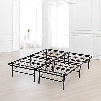 Amazon.com: Bed Frame Platform Folding Bed Frame Metal Base