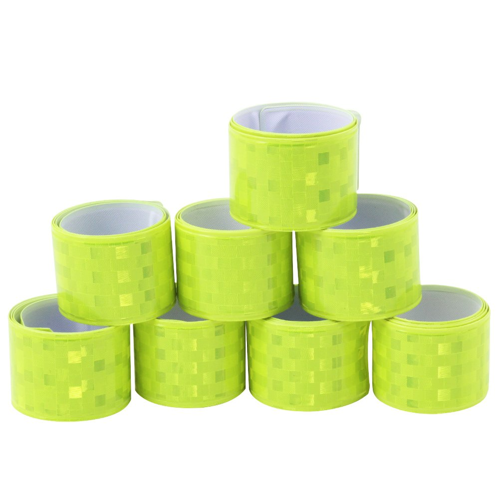 snap bands ideal for joggers and cyclists! 02 pieces - snap band COM-FOUR/® Set of 2 Reflective tapes