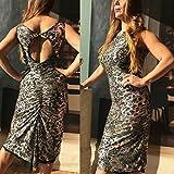 Tango dress, silver, fishtail, open back, reversible