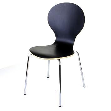 Sydney Asiento Marko Sillas Madera Furniture Comedor Apilables De ...