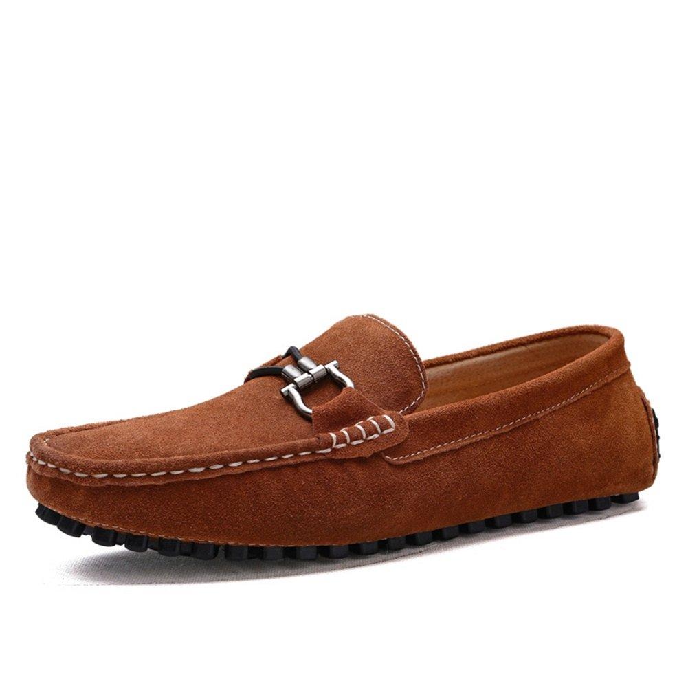 XUE Herren Schuhe Wildleder Wildleder Wildleder Frühling Herbst Fahren Schuhe Comfort Loafers & Slip-Ons Fahren Schuhe für Sportlich Lässig Atmungsaktiv Comfort Outdoor Faule Schuh  473169