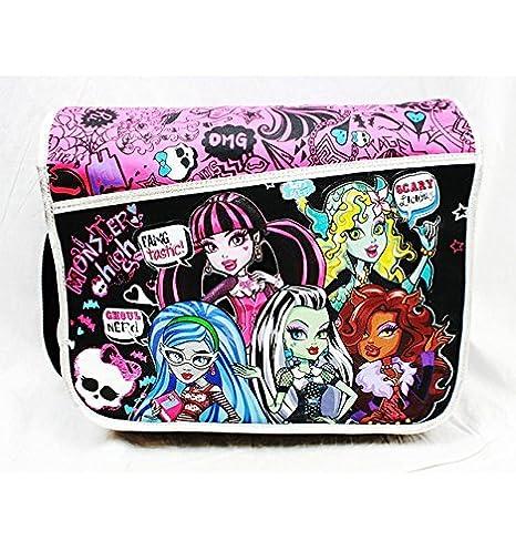 Bolso bandolera - Monster High - Scary mochila escolar Niñas nuevo Anime mh20761: Amazon.es: Juguetes y juegos
