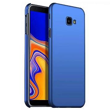 Negro AROYI Funda Samsung Galaxy J4 Plus//J6 Plus,Carcasa Galaxy J4 Plus Clear View Standing Espejo Flip Estilo Libro Carcasa Rasgu/ño y Resistente Plegable Cover para Samsung Galaxy J4+//J6