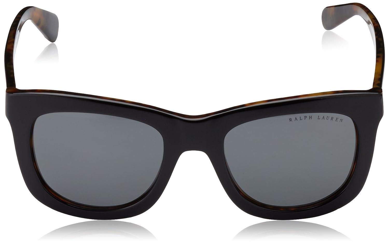 Ralph Lauren Damen Sonnenbrille 0Rl8137 500773 51, Braun (Stripped  Havana Brown)  Amazon.de  Bekleidung 8794d626b2da