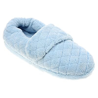 Acorn Women's Spa Wrap Slippers Powder Blue M | Slippers