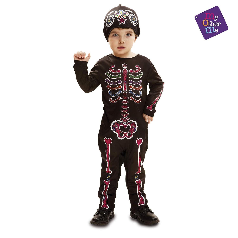 My Other Me - Día De Los Muertos Halloween Catrina Disfraz, Multicolor, 7-12 meses, Fun Company 203265