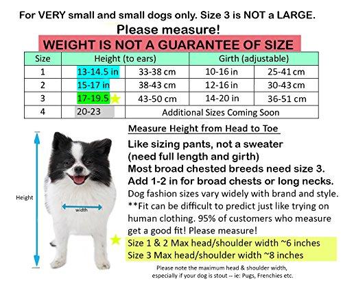 Pandaloon Panda Puppy Dog Pet Costume (Size 2 (15-17 in total height), Panda) by Pandaloon (Image #3)