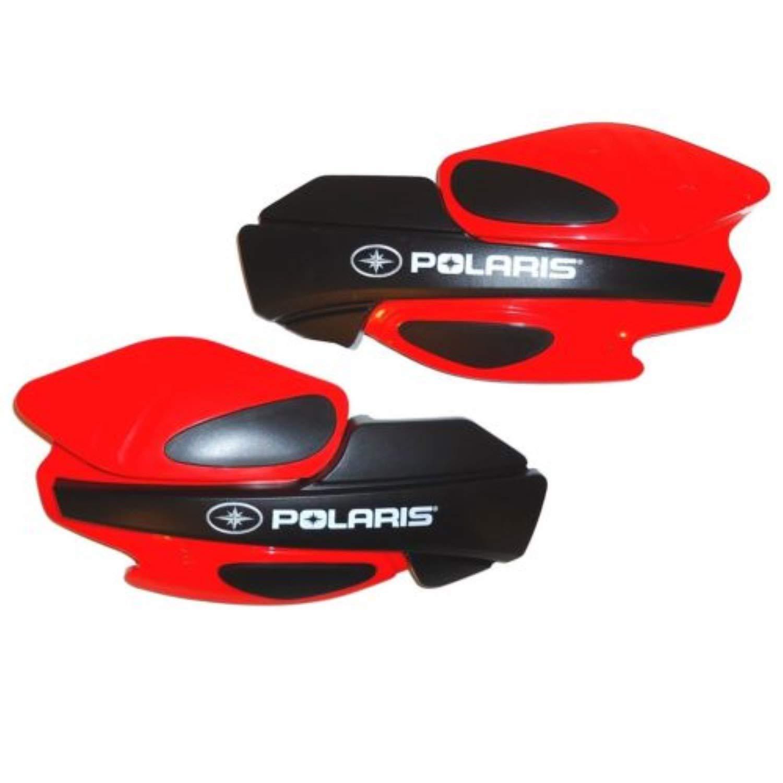 Polaris Snowmobile Red Handguard. 2876845