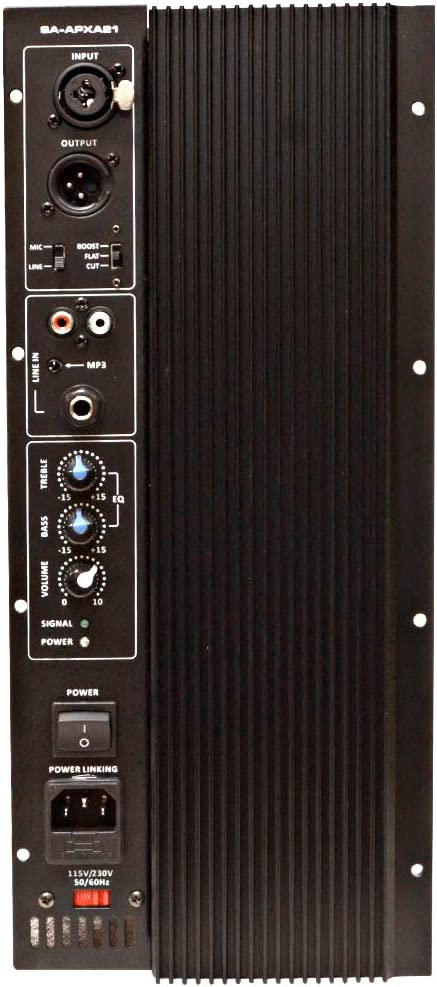 800 Watt Plate Amplifier for PA//DJ Subwoofer Cabinets Class AB Sub Amp