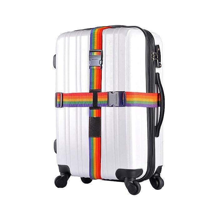 Amazon.com: Correa ajustable para equipaje de viaje, maleta ...