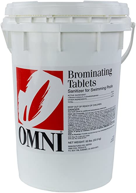 Amazon Com Swimming Pool Spa Bromine Tablets 50 Lbs Garden Outdoor