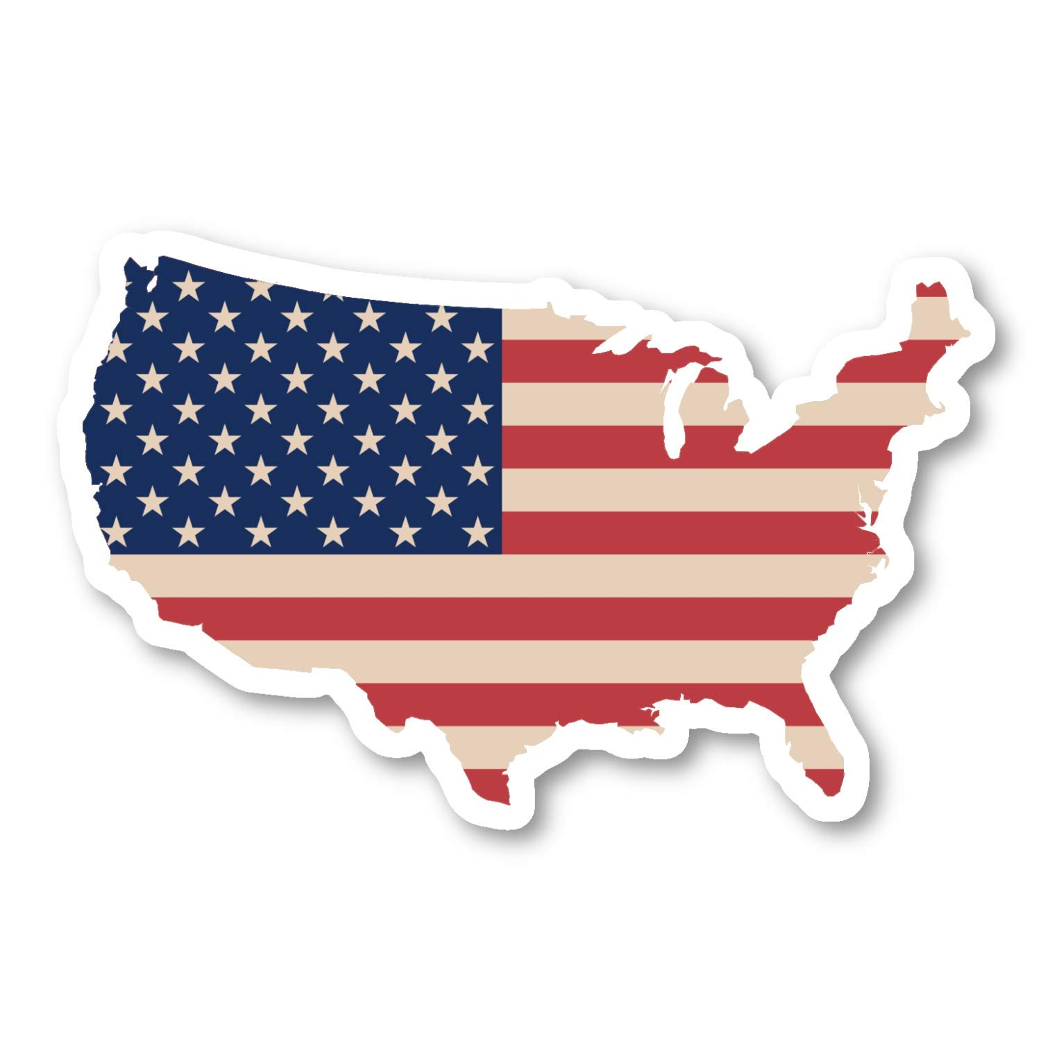 USA United States Map Flag Sticker Flags Stickers - Laptop Stickers on calendar stickers, kentucky stickers, hawaii map stickers, usa patchwork map stickers, wyoming stickers, barbados map stickers, mississippi stickers, states visited maps stickers, north carolina stickers, united states state abbreviations,
