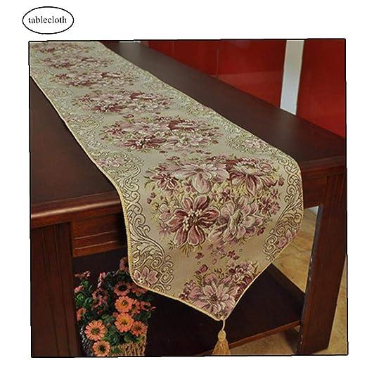 Camino de mesa bordado de estilo vintage, decoración para ...