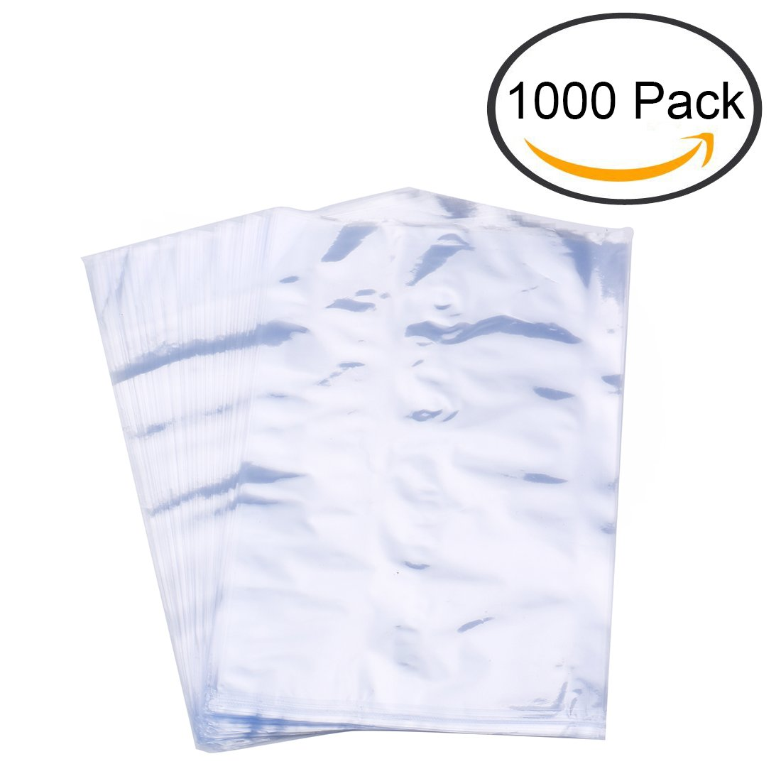 Tosnail 1000 Pieces 4'' x 6'' PVC Shrink Wrap Bags - Great for Soaps, Bath Bombs, Tins, Crafts & DIY Homemade Gifts