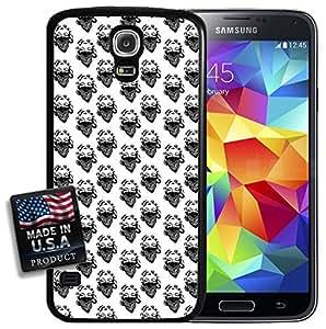 Gangster Marilyn Monroe Woman Pattern Design Galaxy S5 Hard Case