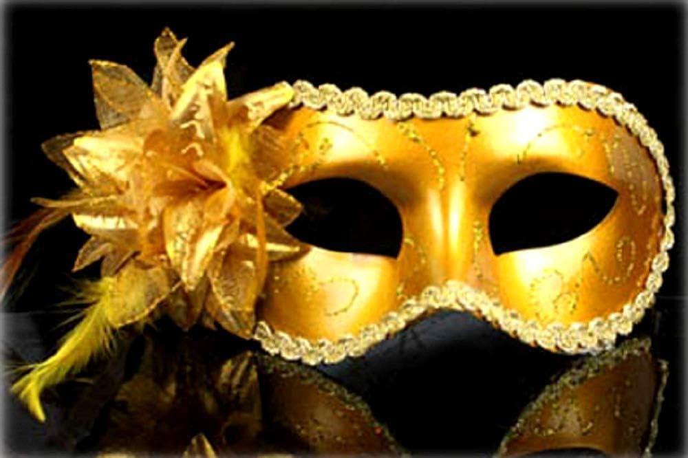 Máscara Gótica Estilo Veneciano KIRALOVE