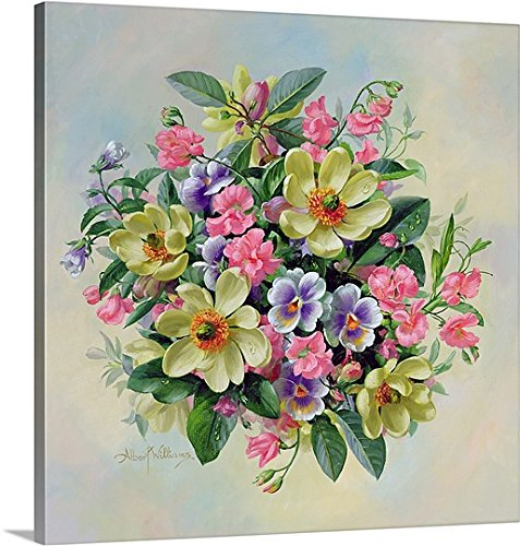 Albert Williams Premium Thick-Wrap Canvas Wall Art Print entitled Homage to Her Majesty The Queen Mother 24