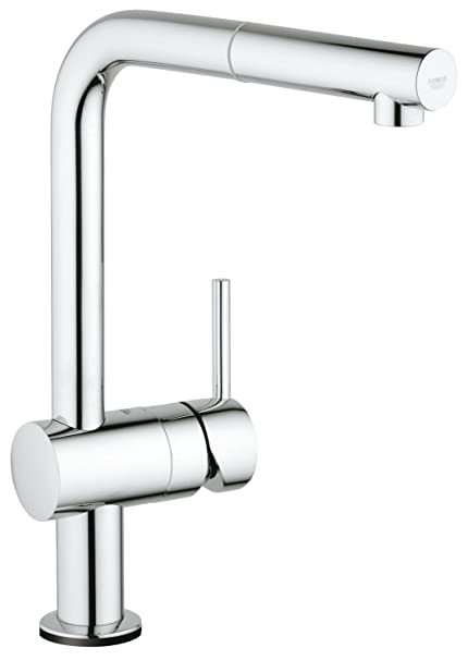 Moderne GROHE 31360000 | Minta Touch Kitchen Tap | Pull-Down Spray: Amazon CB82