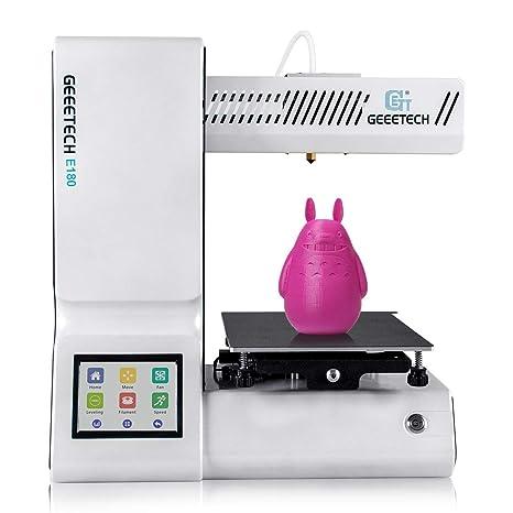 GIANTARM Geeetech E180 - Mini Impresora 3D con Pantalla ...