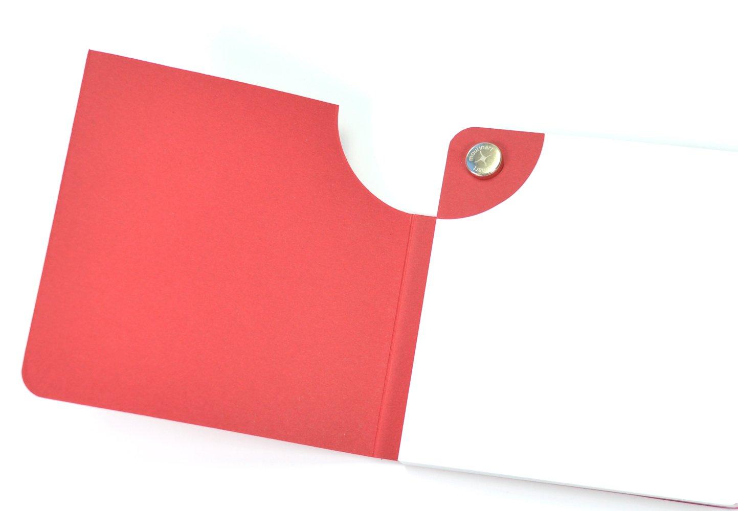 moulinart Estelle 068Pad 8.5x 8.5cm 8,5 x 8,5 cm pink
