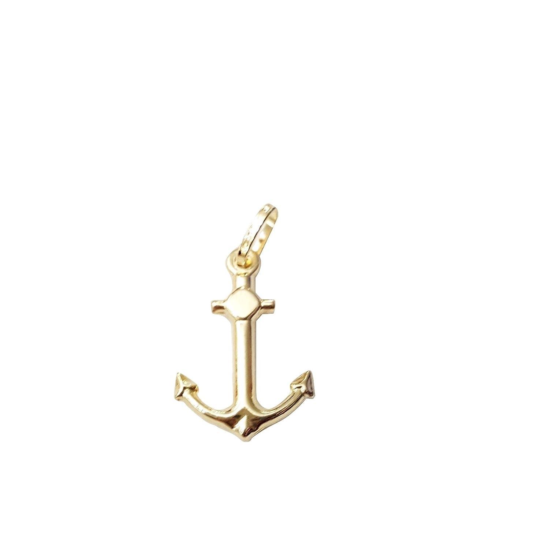 7e4e580230b9 Colgante Ancla de Oro Amarillo 18 kt 750 000 para pulseras o cadenas ...