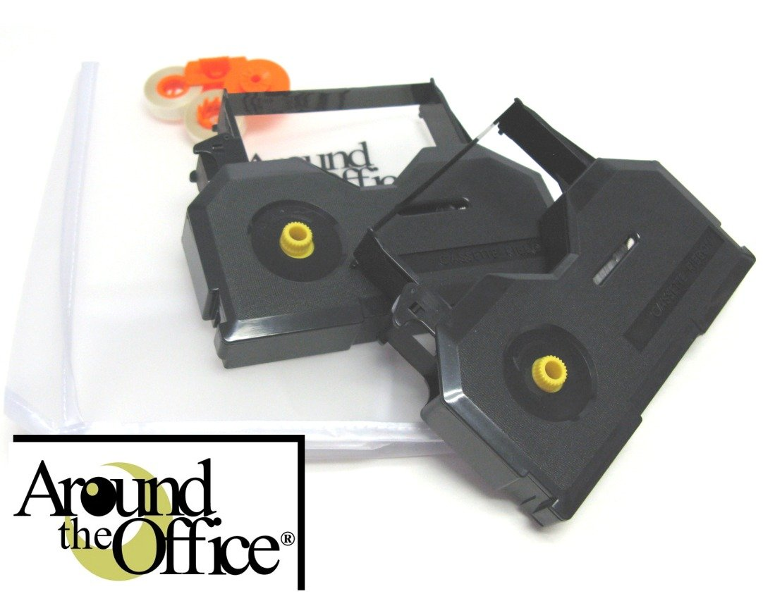 Around The Office Compatible SWINTEC Typewriter Ribbon & Correction Tape for SWINTEC 8011.This Package Includes 2 Typewriter Ribbons and 2 Lift Off Tapes by Around The Office