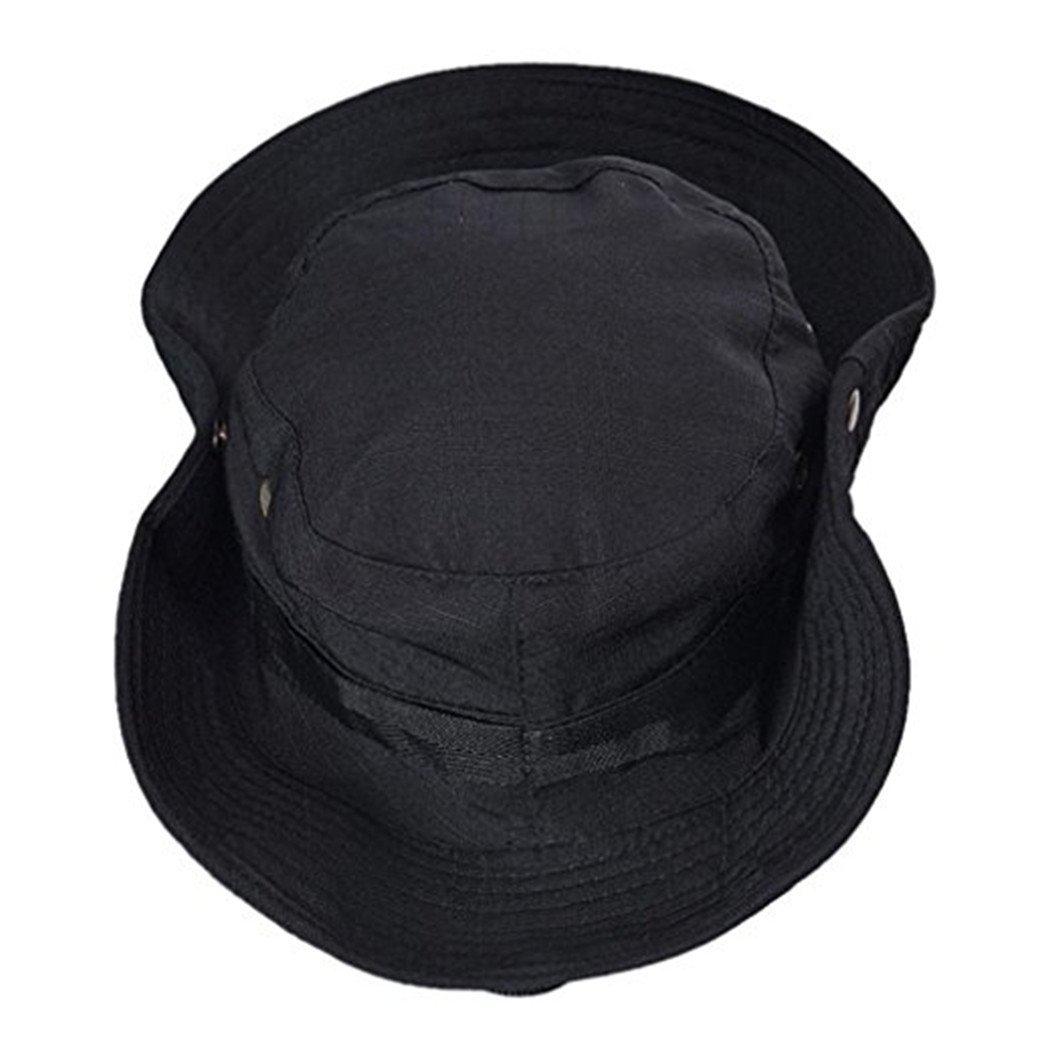 sorveglianza per arrampicate e pesca nero Black cadetto cappello cappello militare piatto Zhouba outdoor mimetico