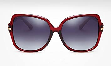 SHULING Gafas De Sol Nuevo Desplazamiento Óptico Personalizado Gafas  Elegante Reminiscente De Los Anteojos Oscuros bae4862a8aa