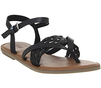 5e284b726e0 Image Unavailable. Image not available for. Color  TOMS Women s Lexie  Sandal Black ...